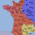 Medieval France Map