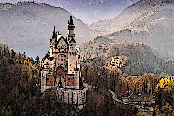 Medieval Germany Medieval Castle Neuschwanstein