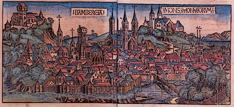 Medieval German City of Nuremberg