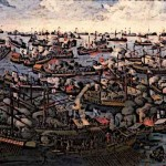 Medieval Spanish Ships Battle of Lepanto