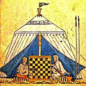Best-Medieval-Games-Christians-And-Muslims-Playing-Chess