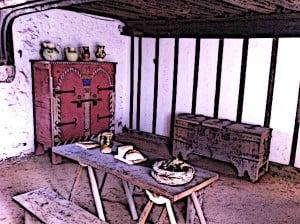 Tudor-Houses-Inside-Medieval-Merchants-Tudor-House-Hall