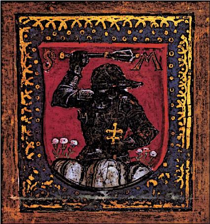 Black Knight Painting