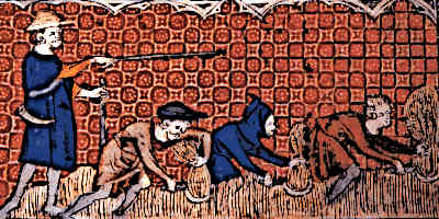 Medieval Serfdom Reeve and Serfs