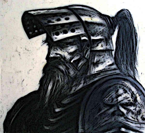 The Black Knight Armor