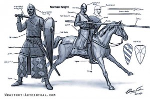 Norman-Knights-Battle-of-Hastings-1066