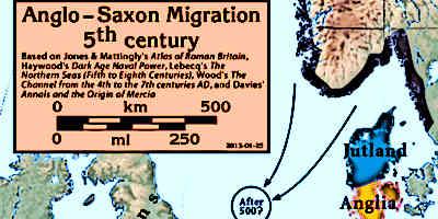 Anglo Saxon Timeline