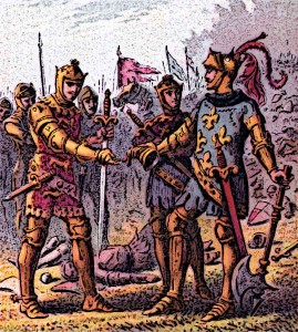English-and-French-Knights-Battle-of-Poitiers
