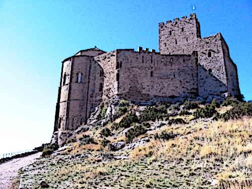 Castillo-de-Loarre-Medieval-Spanish-Castles