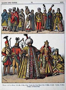 Moors and Turks Clothing