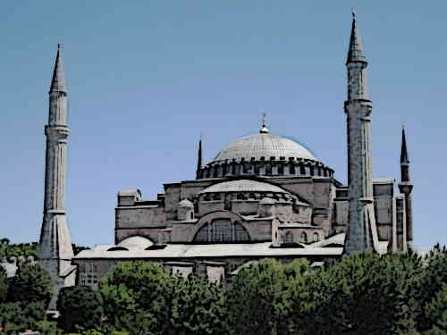 Byzantine-Architecture-Hagia-Sophia
