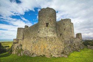 Harlech Castle Concentric Castles