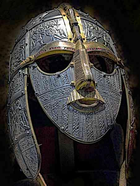 Anglo Saxon Helmet Sutton Hoo