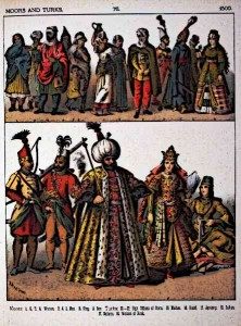 Moors and Turks Clothing in Medieval Times