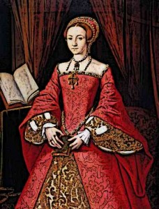 Tudor Clothing Worn By Elizabeth I as a Princess