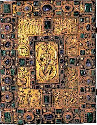 Pre-Romanesque-Art-Medieval-Art-codex-Aureus-Sankt-Emmeram