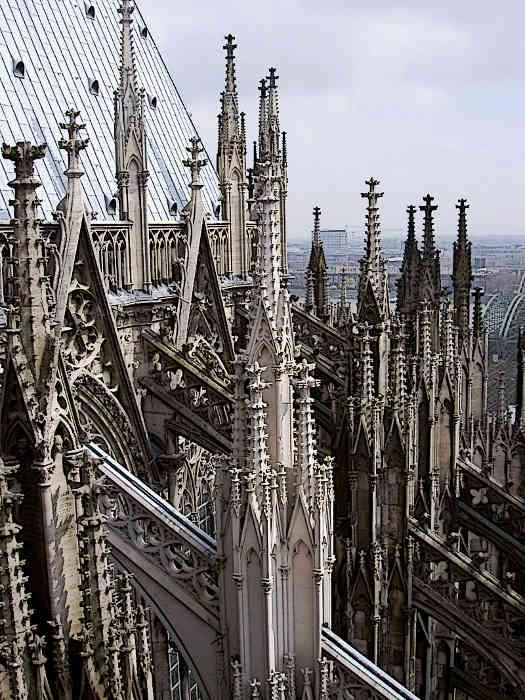 Gothic Architecture Cologne Cathedral