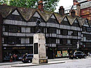 Tudor-Architecture-Half-timbered-tudor-buildings-High-Holborn