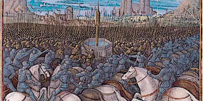 The-Crusades-Battle-of-Hattin-1187