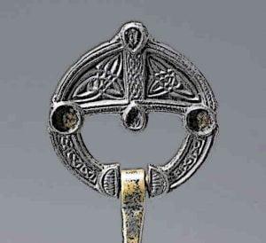Celtic Ring Brooch