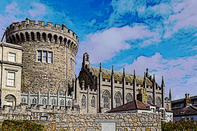 Dublin Castle - Castles of Ireland Monument