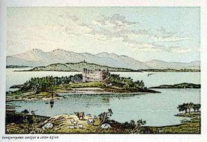 Dunstaffnage Castle Scotland -