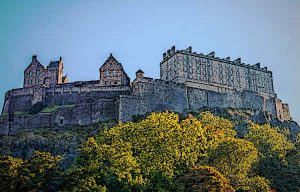 The Edinburgh Castle - Probably the best Castle in Scotland