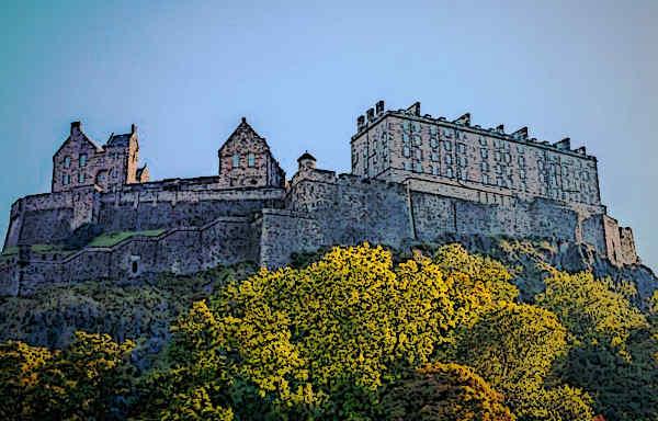 The Edinburgh Castle - Probably the best Castle in Scotland