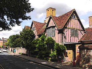 The Shakespeare Home was Halls Croft in Stratford Upon-Avon
