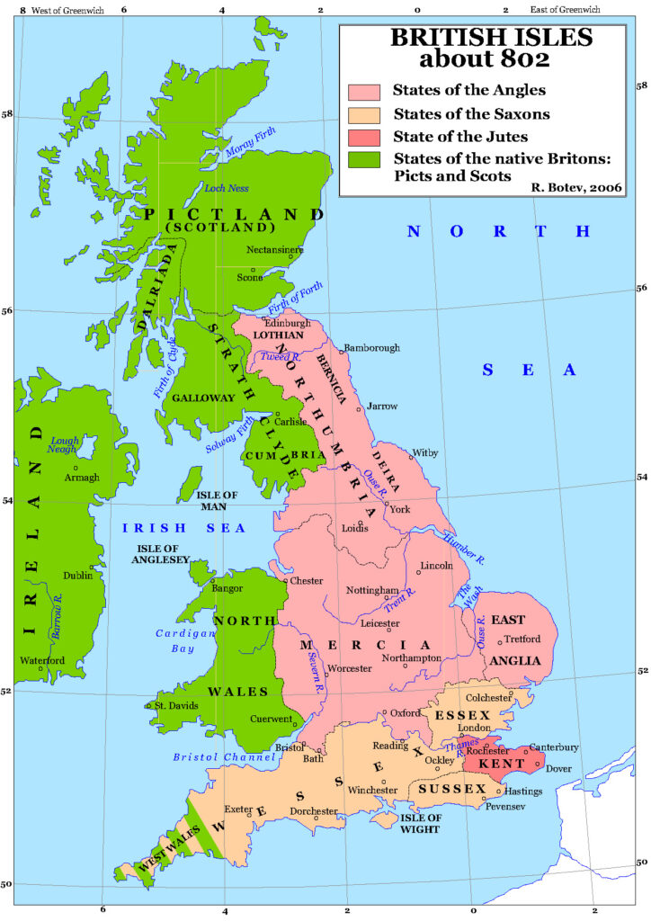 Anglo-Saxon-Kingdoms