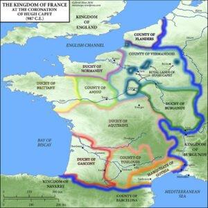 Medieval-France-Map